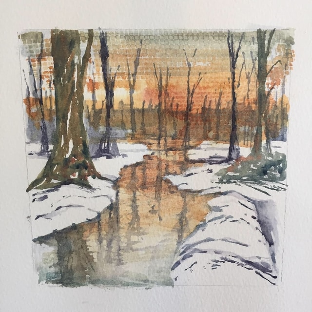 New Forest In Watercolour